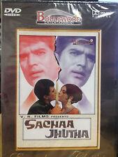Sachaa Jhutha, DVD, Bollywood Ent, Hindu Language, English Subtitles, New