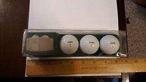 Vintage Zippo Greenskeeper  3 ZIPPO GOLF BALLS & 2 GOLF BALL MARKER & DIVOT TOOL