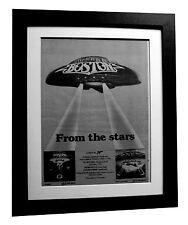 BOSTON+Don't Look Back+TOUR+POSTER+AD+ORIGINAL+1979+FRAMED+EXPRESS GLOBAL SHIP