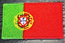 Portugal Portuguese Country Flag Embroidered Patch