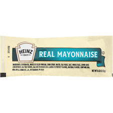 Heinz Mayonnaise Single Serve (12g Packets, Pack of 200)