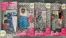 *NEW* 4 Pack Variety Barbie Wonder Woman Dress Outfit Damaged Box - 1C