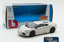 Lamborghini Reventon in White, Bburago 18-30196, scale 1:43, toy gift model boy