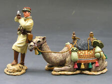 KING AND COUNTRY AK034 AK34 VICHY FRENCH CAMEL CORPS CAMEL & OFFICER 1:30 SCALE