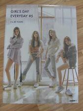 GIRL'S DAY - EVERYDAY #5 (TYPE B) [ORIGINAL POSTER] K-POP