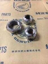 HONDA CA77, CA72 NOS Front and Rear Axle Nut Set.