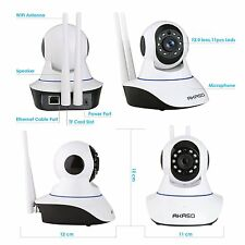 Wireless Wifi IP Security Camera Indoor Home Surveillance Baby Monitor 1280*720P
