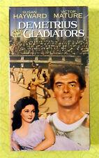 Demetrius and the Gladiators ~ New VHS Movie ~ Victor Mature Susan Hayward Video