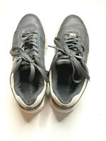 US Polo Assn gray and white sneaker size 8 21750241 K