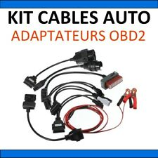 8pcs OBD2 Car Cable Adapter compatible with Autocom CDP Pro Diagnostic Scanne