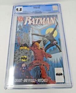 Batman #457 1990 [CGC 9.8] Graded 1st App Tim Drake as Robin DC Key Issue