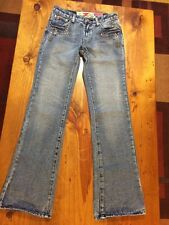 Women's Distressed 7 Seven For All Mankind Jeans Great China Wall Size 28 X 32