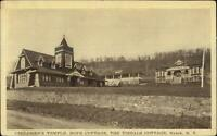 Nyack NY Children's Temple Hope Cottage Tibbal Cottage c1910 Postcard