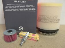 Tune Up Kit Spark Plug Oil + Air Filter Honda TRX250X TRX 250X Fourtrax 1987-92