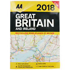 AA 2018 Great Britain and Ireland Road Atlas (Paperback), Non Fiction Books, New
