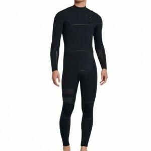 New $390 Men's Hurley Advantage Max Wetsuit 3/3mm FS Black Size XS S MS