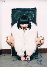 "Jessie J 1988- genuine autograph photo 8""x12"" signed In Person UK singer"