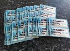 25 Optical Smear Free Pre Moist Cleaning Wipes Spectacle Glass Cleaners