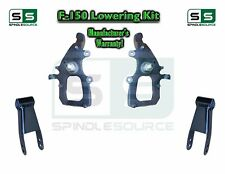 "2004 - 2008 Ford F-150 2WD 2"" / 3"" Drop Lowering Kit Spindles Shackles 04-08"