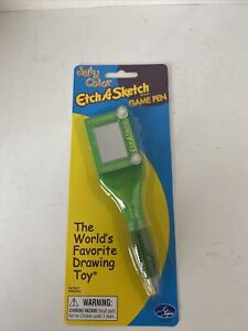 Etch-A-Sketch Game Pen Toy New In Box Game Jelly Color