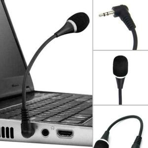 3.5mm Stereo Mic Audio PC Laptop Car Microphone