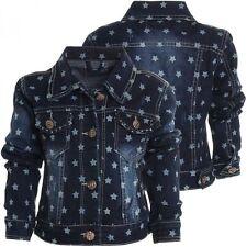 Markenlose Mädchen-Jacken, Denimjacken
