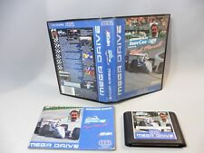 GAME SEGA MEGA DRIVE NEW MAN HAAS INDY CAR FEATURING NIGEL in working condition