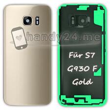 Akkudeckel Für Samsung Galaxy S7 SM-G930F G930F Backcover ● Gold + Kleber