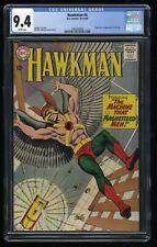 Hawkman #4 CGC NM 9.4 White Pages 1st Print 1st Zatanna!