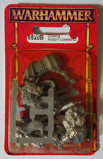 Games Workshop Warhammer Chaos Knight Command 8520B(a) 1997 - METAL OOP MIB