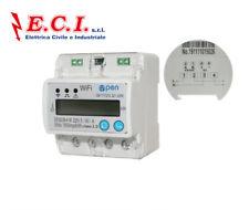 CONTATORE WIFI Intelligente di controllo remoto MONOFASE monitoraggio energia