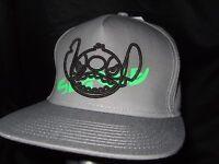 New Gray Neff Disney Lilo And Stitch Alien Snapback Baseball Flat Bill Hat Cap