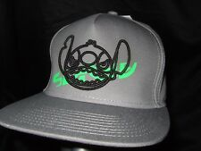 New Gray Neff Disney Lilo And Stitch Alien Snapback Baseball Flat Bill Hat Cap