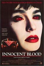 INNOCENT BLOOD -1992 orig rolled D/S 27x40 Movie Poster - Vampire ANNE PARILLAUD
