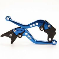 BLUE SHORT Brake Clutch LEVERS fit Kawasaki ZZ-R1200 ZZR1200 2002 2003 2004 2005