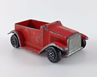 Vintage 1975 Archie Comics Diecast Metal Toy Car Red Advertising Gift