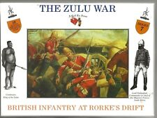 A Call To Arms, The ZULU WAR, British Infantry @RD, Figures in 1/32 AAF 7 ST