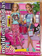 Barbie Stylin 'Friends barbie & Summer bdb42 nuevo/en el embalaje original muñeca
