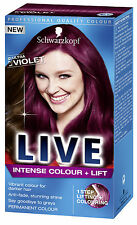 Schwarzkopf Live Permanent Hair Colour L76 Ultra Violet