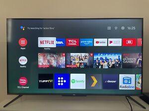 """TCL C715 50"""" 4K QLED Smart TV"""