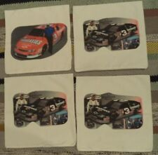 "4 Vintage Nascar Dale Earnhardt #3 Pillow Case Cover Sham NEW 18"" Square Zipper"