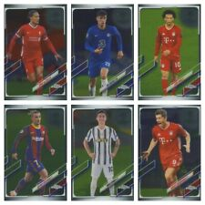 2020-21 Topps Chrome UEFA Champions League Soccer - You Pick