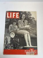 LIFE MAGAZINE JULY 22 1946 NORTH SHORE LONG ISLAND BERMUDA MOTHER CABRINI