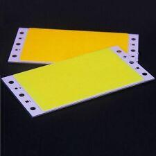 15W 94X50MM 9450 White COB LED Panel Strip Lights DC12-24V For DIY car lamps