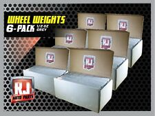 6- 9 LB. BOXS WHEEL WEIGHTS-1/2 OZ. STICK ON ADHESIVE TAPE 1728 PIECES