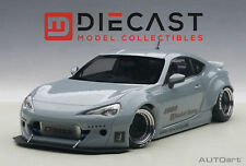 AUTOART 78759 ROCKET BUNNY TOYOTA 86 (CONCRETE GREY/BLACK WHEELS) 1:18TH SCALE
