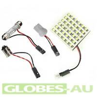 2x 36 LED LED INTERIOR LIGHT PANEL WHITE Car Bulb Lamp T10 Dome Adapter 4WD 12V