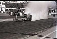 Front Engine Dragster Starting Line Burnout - Original 35mm Racing Negative