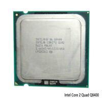 Core 2 Quad Q8400 Quad-Core CPU 2.66 GHz 1333 MHz LGA S+ 775 C4T5 Socket! K5G6