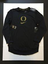 Nike Oregon Ducks Velocity Performance Long Sleeve Dri-Fit Shirts Mens Size XL